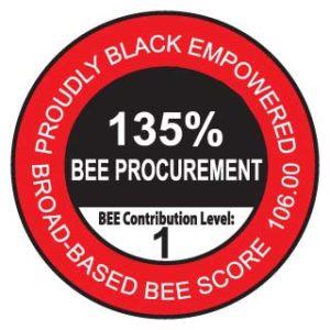 Level 1 BEE Contributor
